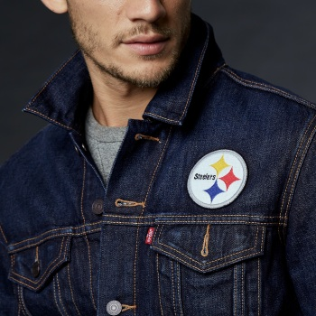 284960013 28496 0013 Sports Denim Trucker Steelers