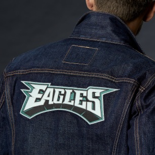 284960035 28496 0035 Sports Denim Trucker Eagles