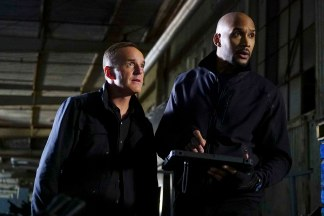 "MARVEL'S AGENTS OF S.H.I.E.L.D. ""The Ghost"" In the season premiere episode, ""The Ghost,"" Ghost Rider is coming, and S.H.I.E.L.D will never be the same. ""Marvel's Agents of S.H.I.E.L.D."" returns with a vengeance for the fourth exciting season in an all new time period, TUESDAY, SEPTEMBER 20 (10:00 11:00 p.m. EDT), on the ABC Television Network. (ABC/Richard Cartwright) CLARK GREGG, HENRY SIMMONS"
