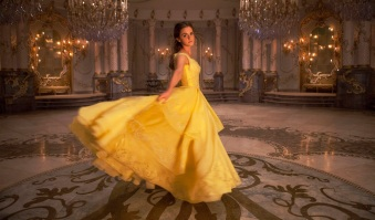 Emma Watson as Belle in Disney's BEAUTY AND THE BEAST, a live action adaptation of the studio's classic animated film.