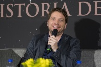 MEXICO CITY – November 22: Director Gareth Edwards at the Fan Event Q&A in Mexico City.