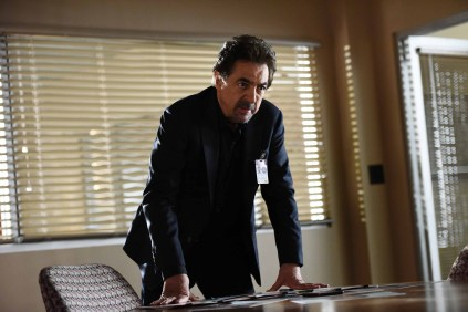 "CRIMINAL MINDS ""The Crimson King"" Coverage of the CBS series CRIMINAL MINDS, scheduled to air on the CBS Television Network. (ABC Studios/Eddy Chen) JOE MANTEGNA"