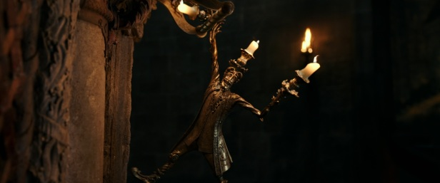 Lumiere, the candelabra in Disney's BEAUTY AND THE BEAST, a live action adaptation of the studio's animated classic which is a celebration of one of the most beloved stories ever told.