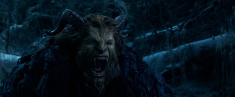 The Beast (Dan Stevens) in Disney's BEAUTY AND THE BEAST, a live action adaptation of the studio's animated classic which is a celebration of one of the most beloved stories ever told.