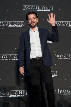 MEXICO CITY – November 22: Diego Luna at the photocall of ROGUE ONE: A STAR WARS STORY press tour at the St. Regis Hotel, Mexico City.