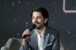 MEXICO CITY – November 22: Diego Luna (Captain Cassian Andor) at the Fan Event Q&A in Mexico City.
