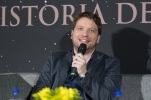 MEXICO CITY – November 22: Director Gareth Edwards at the Fan Event Q&A in Mexico City. Photo by Gonzalo Rocha López.