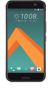 htc10 gray front